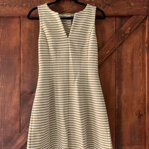Lilly Pulitzer | Cream & Gold Striped Dress